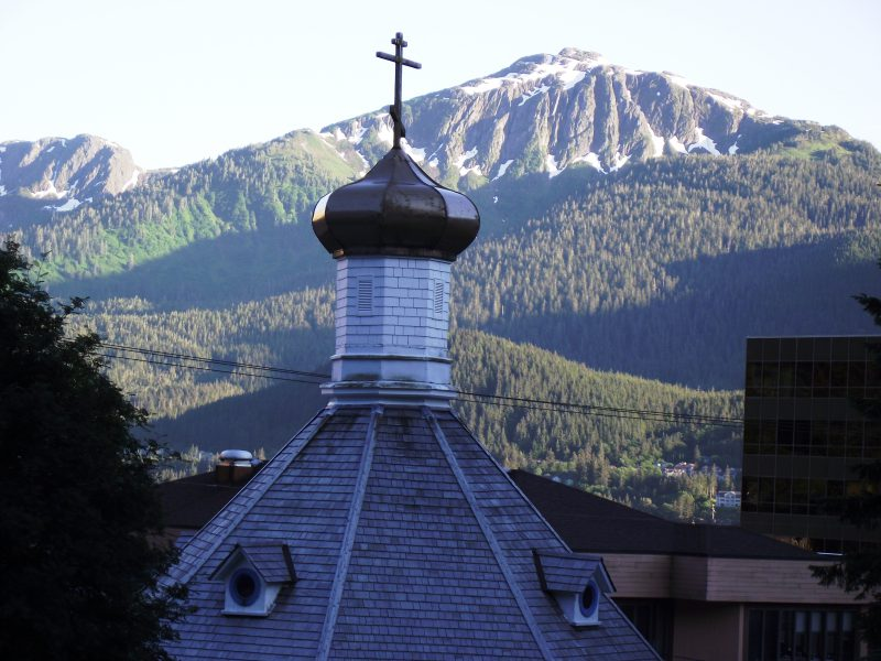 Steeple of an Orthodox Church
