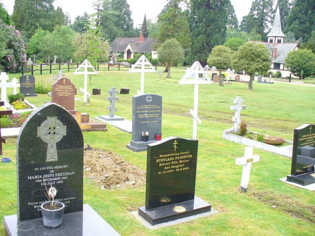 Traditional burial ground for Orthodox Christians