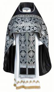Black priest vestments