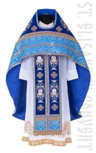 Blue liturgical colors