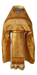 Gold liturgical vestments