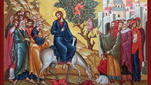 Icon of the Christ's Entrance into Jerusalem